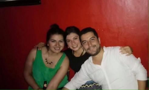 Johanna, Juan and Dalila