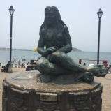Native Statue Mermaid