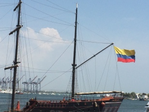 Ships in Cartagena